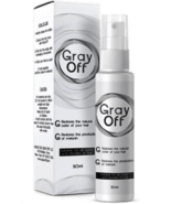 Gray OFF Hair Spray Restore Black Hair 50ml NEW ORIGINAL - $69.90