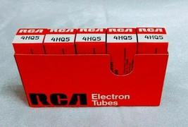 Vintage RCA Miniature Electron Tubes 4HQ5 - Box of Five (5) - NOS - $24.95