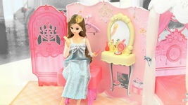 Mimi World Wedding Mimi Bedroom Doll Suitcase Carrier Case Roleplay Toy Playset image 4