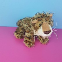 Ganz Webkinz Plush Leopard HM031 Stuffed Animal No Code Spotted Cat Bean... - $9.89