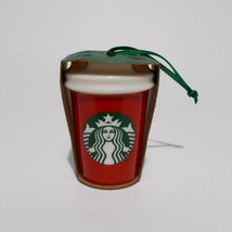 Starbucks State Ornament Illinois Travel Mug Red Cup 2016 - $12.86