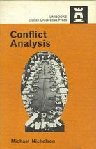 Conflict Analysis by Michael Nicholson - $7.99
