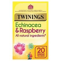 Twinings Echinacea & Raspberry Tea Bags 20 per pack - $5.39