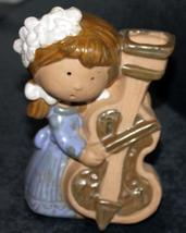 Vintage COUNTERPOINT SAN FRANCISCO Girl with Violin Figural Vase, KITCH ... - $8.99