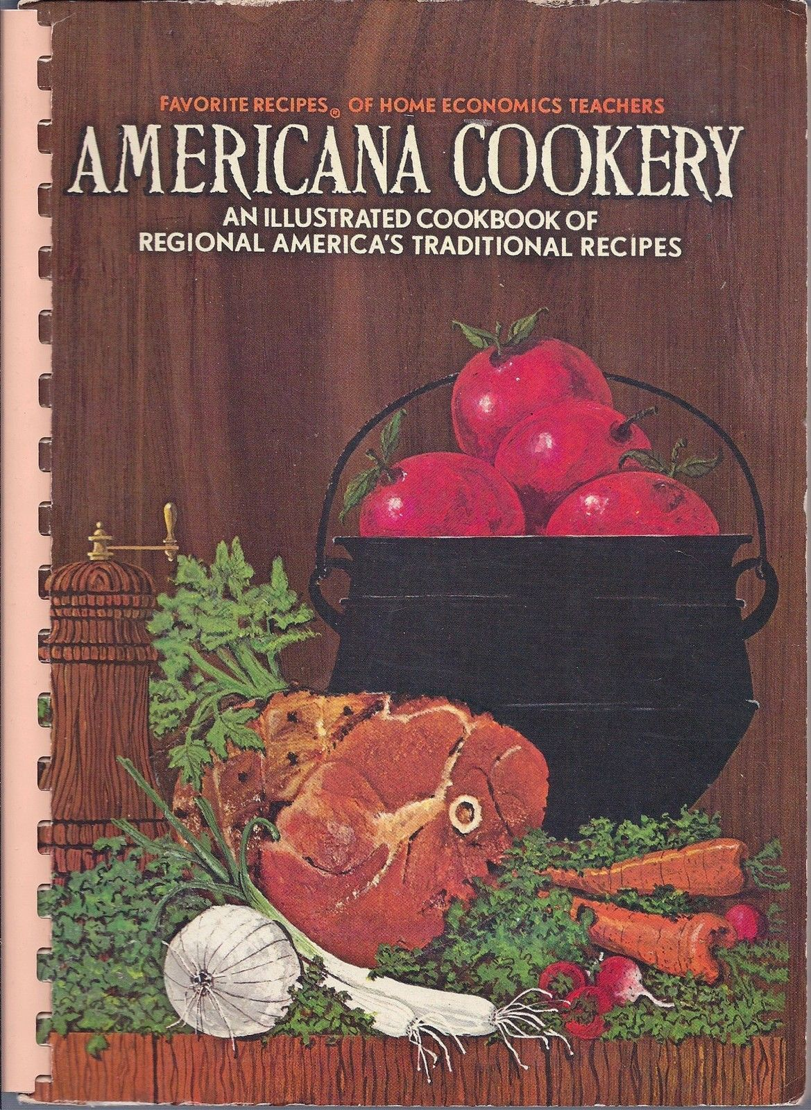 Primary image for Americana Cookery Favorites Recipes of Home Economics Teachers 1971