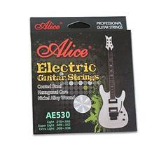 Super Light Electric Guitar Strings, 6 Strings (.009- .042)