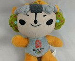 "2008 Beijing Summer Olympics Mascot Yellow 6.5"" Plush Suction Cup Stuffed Animal"
