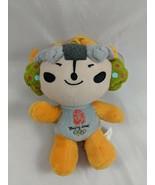 "2008 Beijing Summer Olympics Mascot Yellow 6.5"" Plush Suction Cup Stuffe... - $7.15"