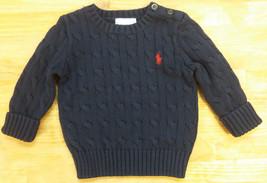 Ralph Lauren Kid's sweaters  , Size 9M, Navy - $29.69