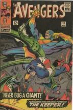 Avengers #31 ORIGINAL Vintage 1966 Marvel Comics Captain America Stan Lee - $98.99