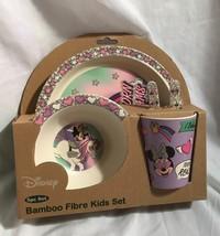 MINNIE MOUSE BAMBOO FIBRE KIDS SET - $15.00
