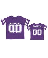 Personalized Baltimore  Ravens Uniform Jersey Toddler Tshirt  - $27.95