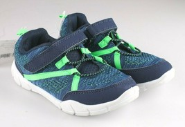 Just One You Carter's Todler Boys Blue Green Everett Sneakers Shoes 12 US