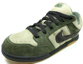 Nike Mogan JR 312279 201 Youth Skate Style Shoes Leather Neutral Olive/M... - $39.99