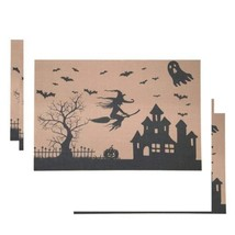 Awtlife Set de Table, 6 Tapis Haunted House - Parfait Halloween  - $27.23 CAD