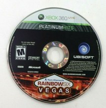Tom Clancy's Rainbow Six: Vegas (Microsoft Xbox 360, 2006) Disc Only Tested - $1.95