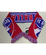 Adidas MLS Soccer Scarf Acrylic DALLAS F.C. MLS Team League - $15.00