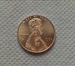 New Hobo Nickel 1982 Feathered Wheat Penny Abraham Lincoln Casted Coin - $11.99