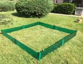 Raised Garden Border Garden Fence Garden Bed Frame Flower Bed Fence Kit ... - $62.95 CAD