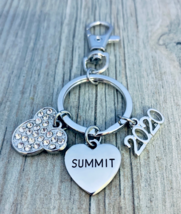 2020 Cheer Summit Zipper Pull Key chain for Cheerleaders, Cheer Keychain... - $12.99