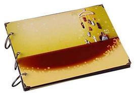 [Yellow] DIY Scrapbook DIY Memory Book Baby Photo Albums Creative Gift - £21.87 GBP