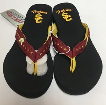 USC Southern California Trojans Women's Flip Flops Sandals Shoes Many Sizes image 5