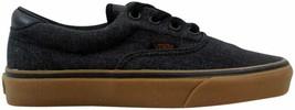 Vans Era Denim C&L Black/Gum VN0A3458L2T Men's Size UK 3 - $72.27