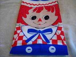 """Raggedy Andy 18"""" Doll Fabric Panels - $10.00"""