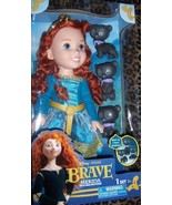 Disney Pixar Brave Merida Toddler Doll with Bear Brothers NEW 14 Inches  - $35.00