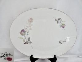Sango Lori Large Oval Platter Porcelain - $19.79