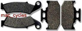 Kawasaki Disc Brake Pads KX500 1994-1995 Front & Rear (2 sets)