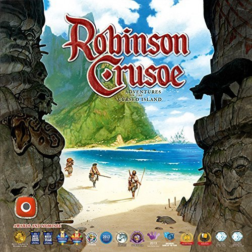 Portal Games Robinson Crusoe Adventures on the Cursed Island Board Game