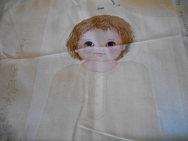 Christening Doll Fabric Panels - $20.00