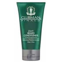 CLUBMAN 2-IN-1 BEARD CONDITIONER & combination facial moisturizer 3OZ - $6.58