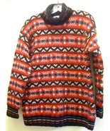 JONES NEW YORK SPORT HANDKNITTED WOOL PULLOVER ... - $84.99