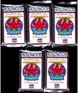 HOLLYWOOD WALK OF FAME 5 PACKS MINT RARE - $4.95