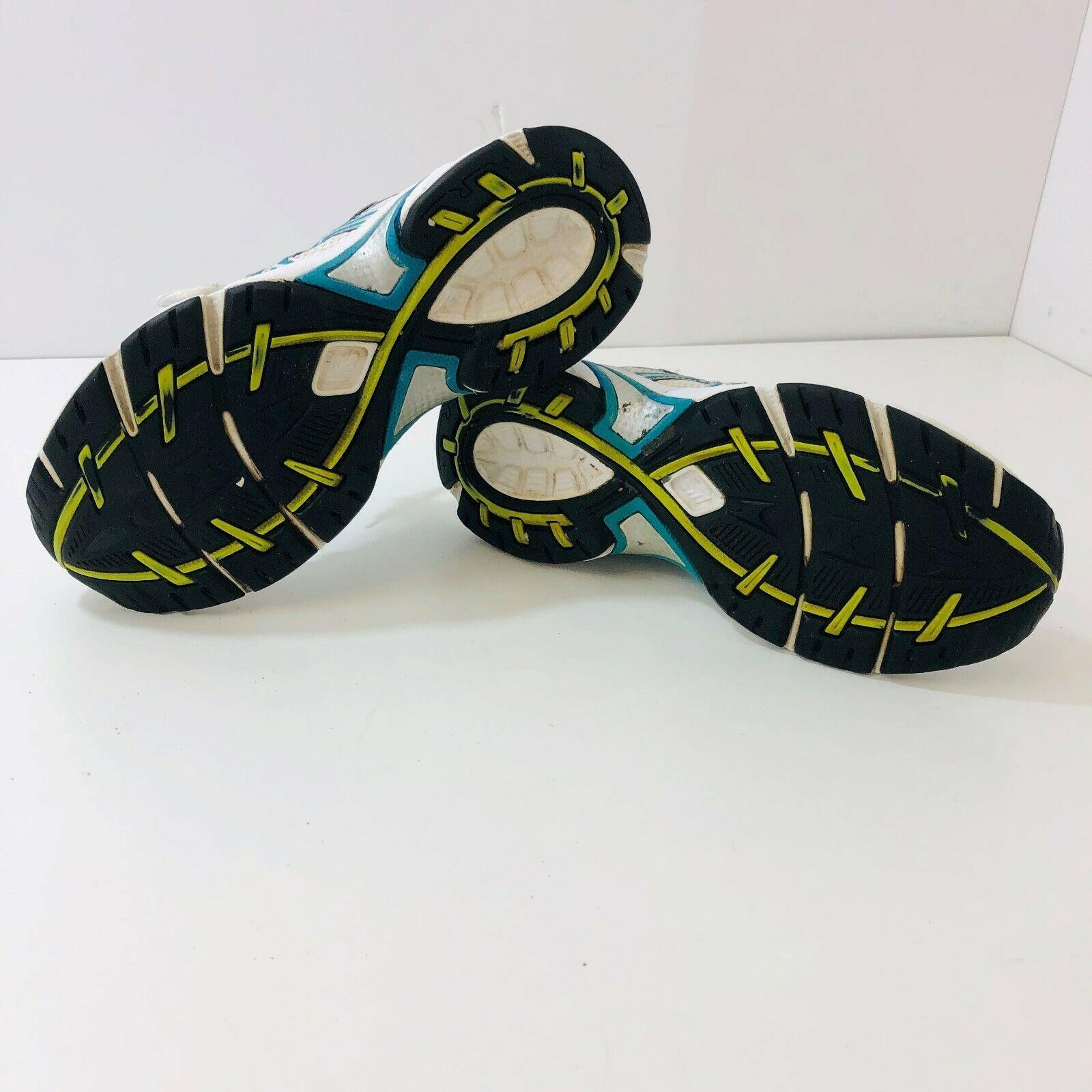 ASICS Gel-Impression 3 Womens Running Shoes Sneakers White/Blue TOJ7N Size 7.5M