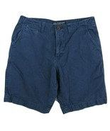 American Eagle Outfitters Classic Fit Flat Front Shorts Blue Men's W32 I... - $24.26