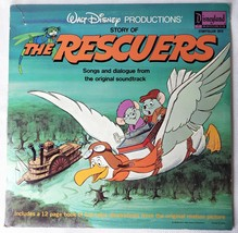 Story of The Rescuers LP Walt Disney Productions - $11.21