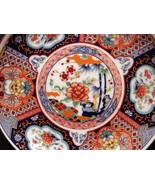 Imari Ware Japan Decorative 6 inch Plate Colorful Ready to Hang or Display  - $6.99