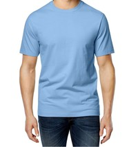 Club Room NEW Mens Short Sleeve Crewneck Tee T-Shirt Small S Big Sky Blue - $5.95