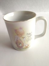 "VTG Enesco Cup Mug ""Make A Joyful Noise"" Precious Moments 1984 Jonathan ... - $10.84"
