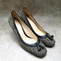 "Ann Taylor LOFT Womens   Size 6 Brown Slip On 3"" Heels Pumps - $19.99"