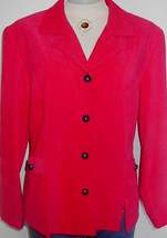 Hot Pink Western Rail Horse Show Hobby Halter Jacket 12  - $50.00
