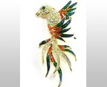 Bp72 exotic bird brooch 3.5 in thumb155 crop