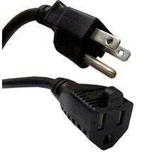 75 ft Heavy Duty 12 Gauge Black UL Listed Indoor, Outdoor AC Power Elect... - $60.65