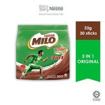Malaysia's Nestle Milo 3 in 1 Instant Drinks (33gm x 30 Sticks) - $27.90