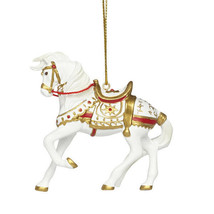 A Royal Holiday Painted Pony Ornament - $25.95