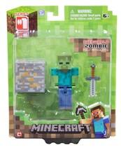 Minecraft Overworld 3 inch Action Figure Pack -... - $14.74