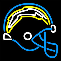 "NFL San Diego Chargers Helmet Logo Beer Neon Light Sign 17""x 15"" [High Q... - $129.00"